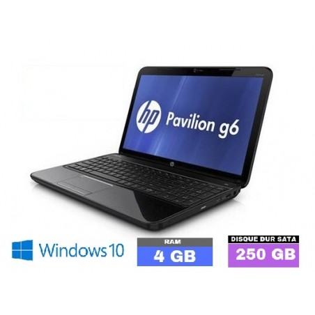 HP PAVILION G6 - Windows 10 - HDD 250 Go - 4 Go de Ram - N°020503