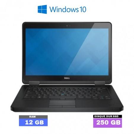 DELL LATITUDE E5540 - Windows 10 - SSD - Core I3 - Ram 12 Go  - N°021004