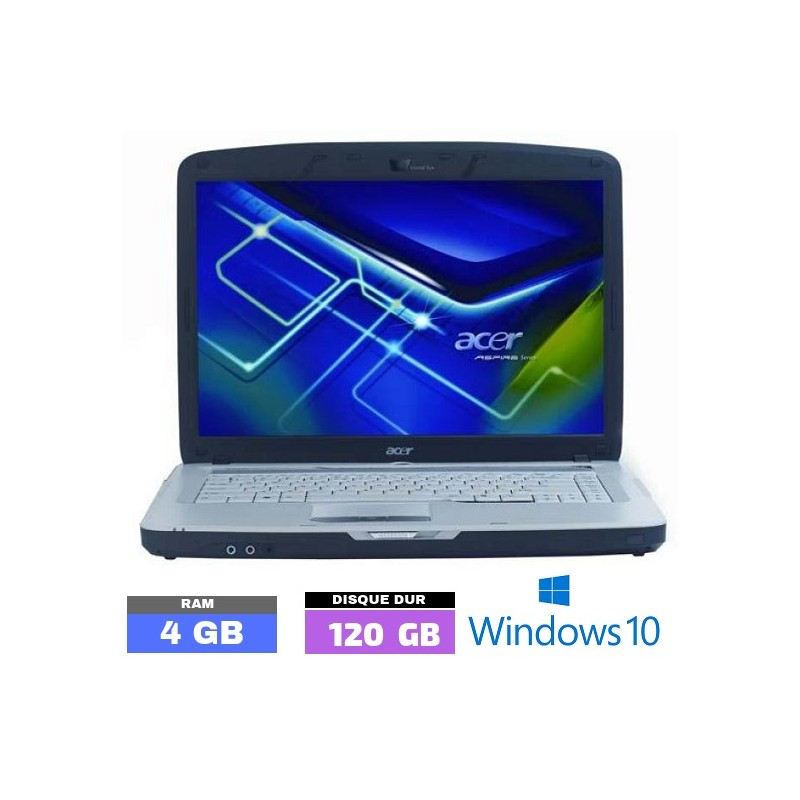 ACER ASPIRE 5720Z Sous Windows 10 -Ram 4 Go - N°092801 PHOTO 1