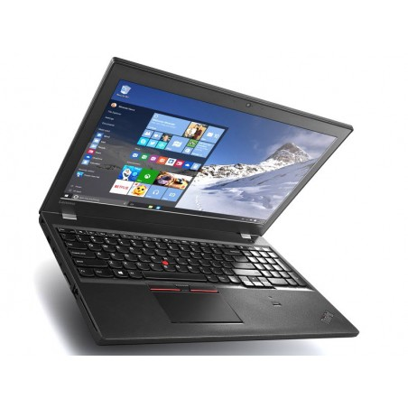 LENOVO T560 - Core I5 6EME GENERATION - WEBCAM - Windows 10 - SSD 250 - Ram 8Go - N°031710