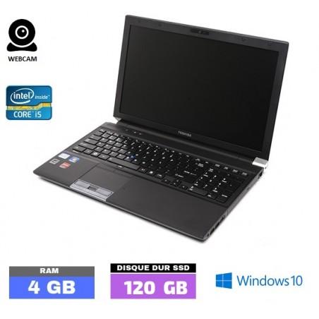 TOSHIBA TECRA R850  Core I5 - Windows 10 - SSD - Ram 4 Go - WEBCAM - N° 032506