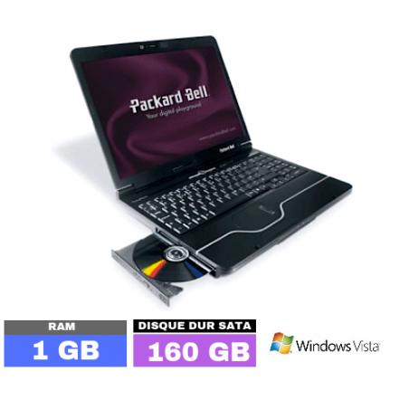 PACKARD BELL EASYNOTE ALP-AJAX - GRADE D - Sous Windows Vista - Ram 1 Go - N°040202