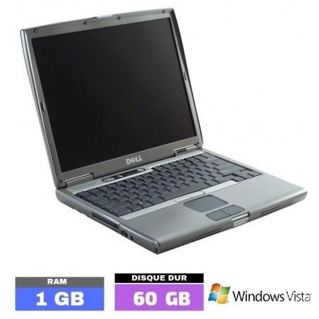 DELL LATITUDE D505 Sous Windows Vista - Ram 512 Mo - N° 040204
