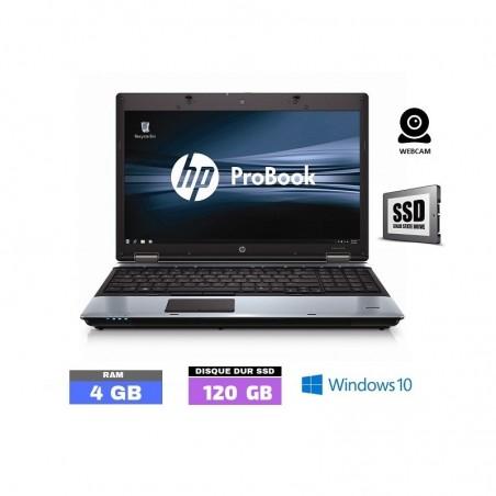 HP PROBOOK 6550B Windows 10 - SSD - Ram 4 Go - N°040902