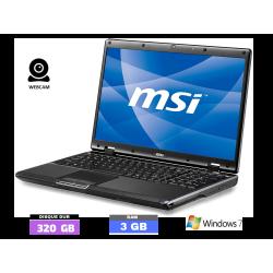 MSI CR600 sous Windows 7 -...