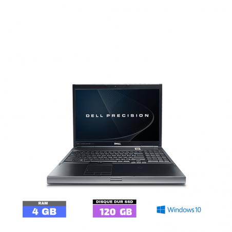 DELL PRECISION M6400 - Windows 10 - Ram 4 Go - WEBCAM - SSD - N°042115