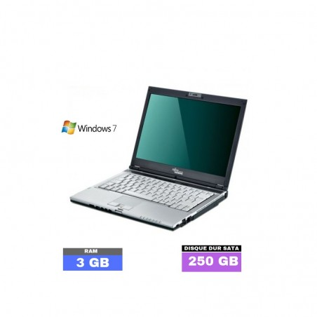 FUJITSU LIFEBOOK S6410 - Windows 7 - Ram 3 Go - N°050304