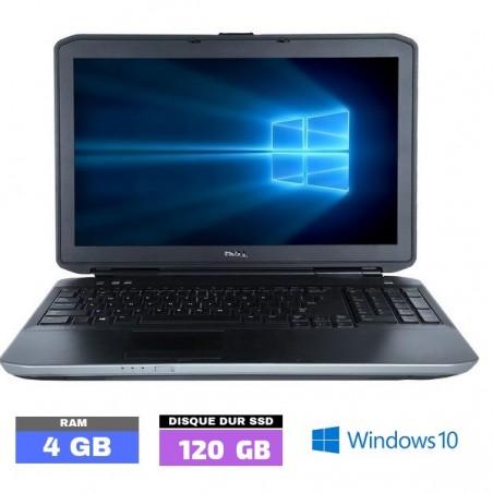 DELL LATITUDE E5530 - GRADE D - Windows 10 - Core I5 - Ram 4 Go - SSD - N°050305