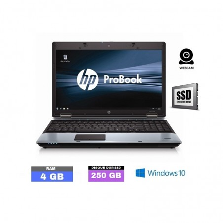HP PROBOOK 6550B - Windows 10 - SSD 250 Gb - Ram 4 Go - N°050502