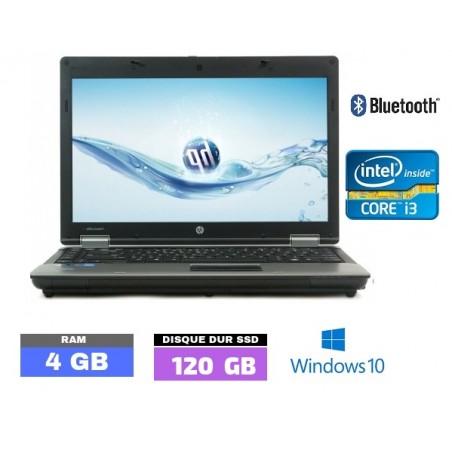 HP ProBook 6450b Sous Windows 10 - Ram 4 Go - SSD 120 Go - N°051020