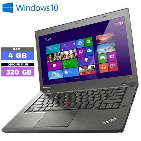 LENOVO T440 - Windows 10 - Core I5 - Ram 4Go - Webcam - N°210502