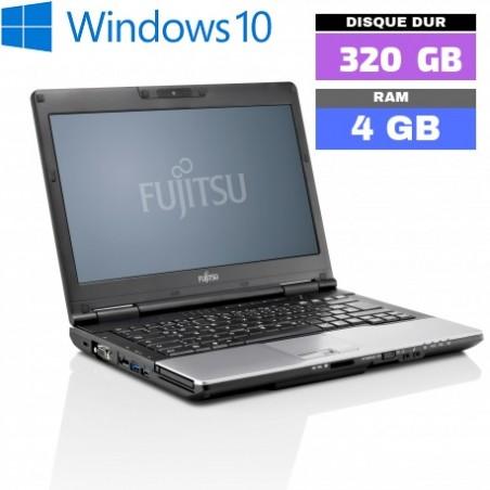 FUJITSU LIFEBOOK S752 - Windows 10 - WEBCAM - Ram 4 Go - N°052803