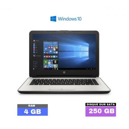 HP Notebook 14 sous Windows 10 - 4Go RAM  - N°060302