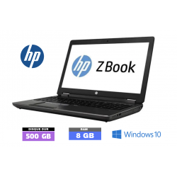 HP ZBOOK 15 sous Windows 10...