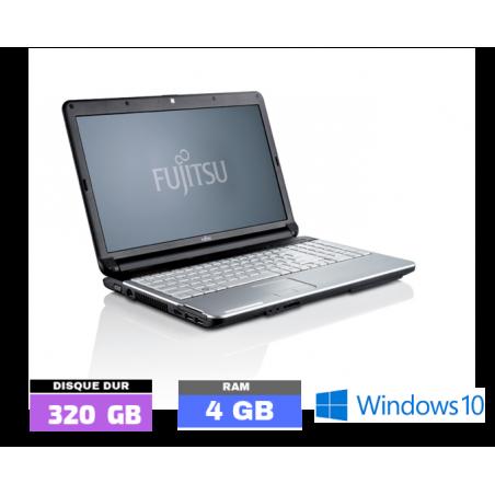 FUJITSU LIFEBOOK A530 - CORE i5 - Windows 10 - Ram 4 Go - Webcam - N°070705
