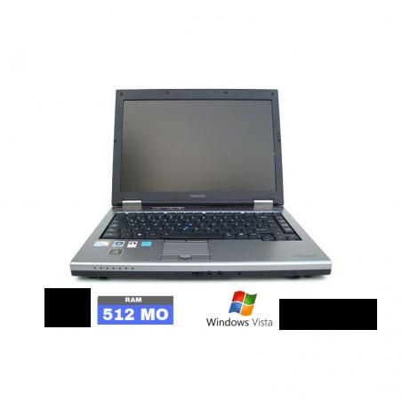 TOSHIBA TECRA M5 Sous Windows Vista - Ram 510 Mo - Grade D - N° 070801