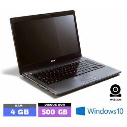 ACER ASPIRE 4810TZ Sous Windows 10 - Ram 4 Go - N° 101401 PHOTO 1