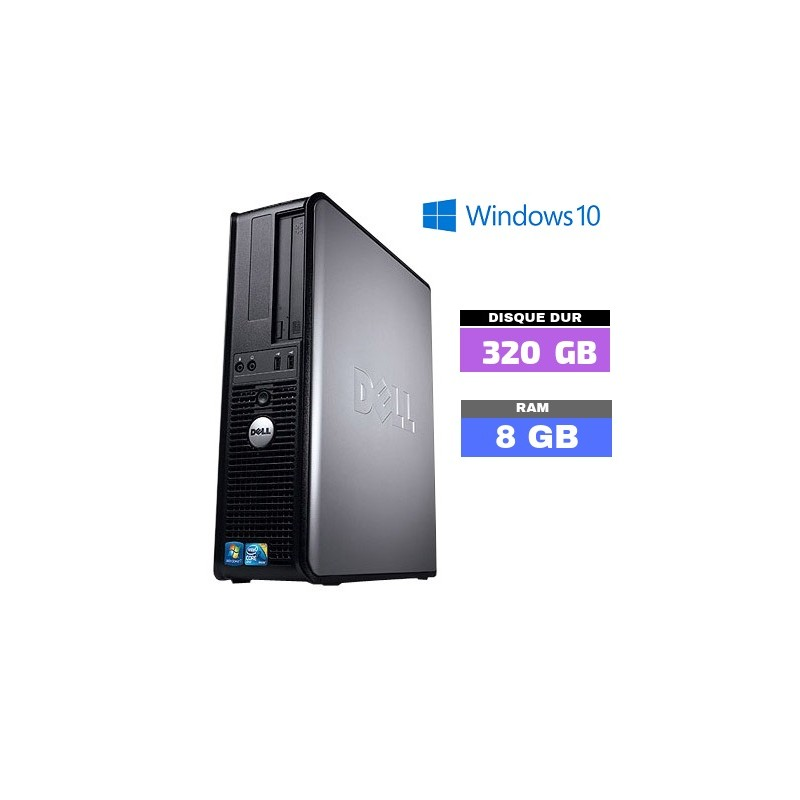 UC DELL OPTIPLEX 380 Sous Windows 10 - Ram 8 Go - N° 102102 photo 6