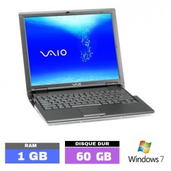 SONY VAIO VGN-B3VP Sous Windows 7 - N° 102501 photo 1