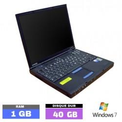 COMPAQ EVO N620C Sous Windows 7 - N°1026-01 PHOTO 1