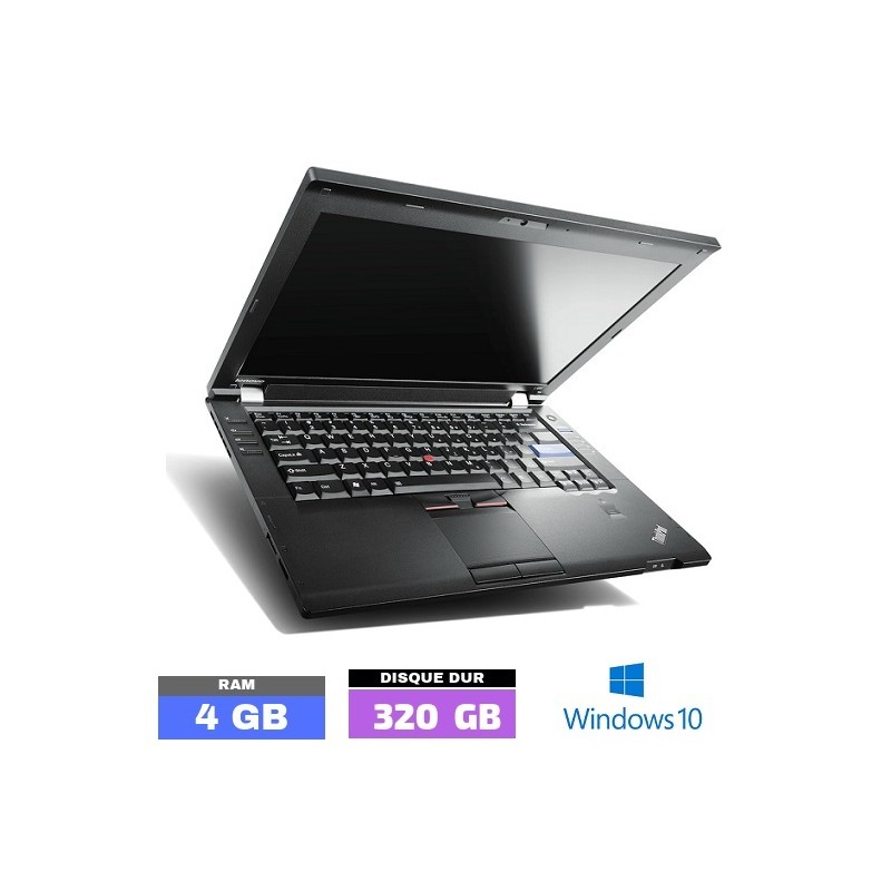 LENOVO L420 Sous Windows 10 - Ram 4 Go- N°110704 PHOTO 1
