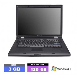 LENOVO 3000-N100 sous Windows 7 - Ram 3 Go- N°112701 photo 1