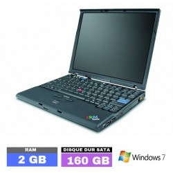 LENOVO THINKPAD X60S sous Windows 7 - N°120703 PHOTO 1
