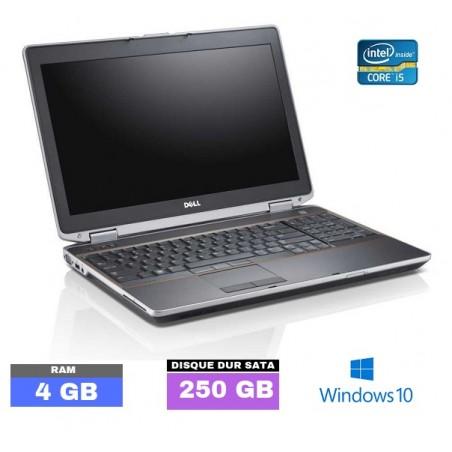 DELL E6230 Sous Windows 10 Core I5 - Ram 4 Go  N° 122520
