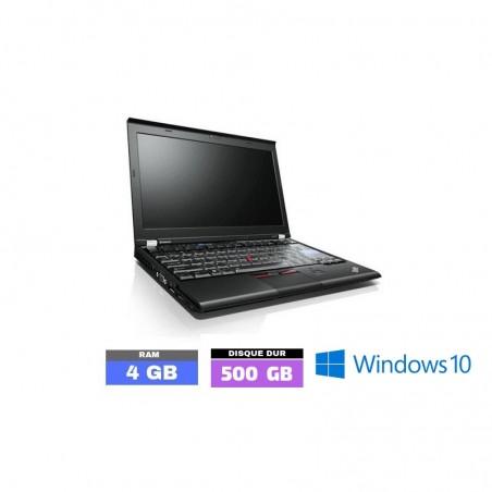 LENOVO THINKPAD X220 Core I5 Sous Windows 10 - Ram 4 Go - N°0123-01