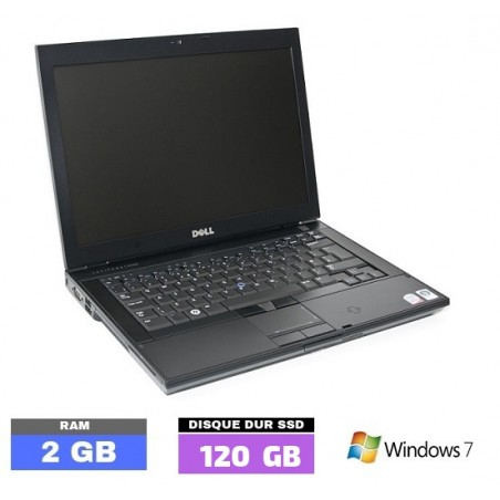 DELL E6400 Sous Windows 7 - Ram 2 Go- N°022505