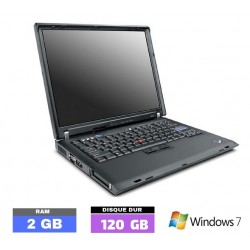 LENOVO R60 sous Windows 7...