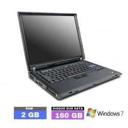 LENOVO R60 sous Windows 7...