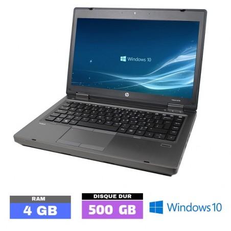 HP 6475B Sous Windows 10 - Ram 4 Go  N° 062650