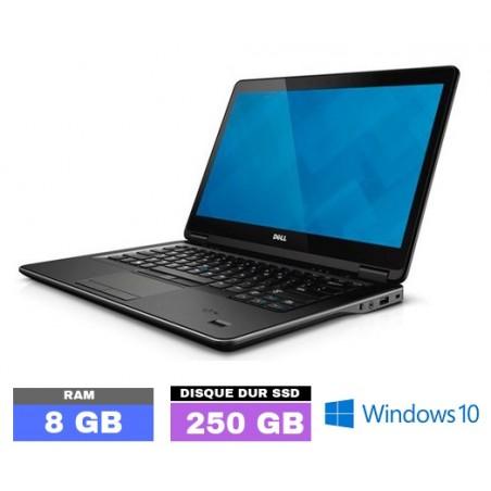 DELL E7440 Core I5 - Windows 10 - WEBCAM - SSD 250 GB - Ram 8 Go- N°0403-20