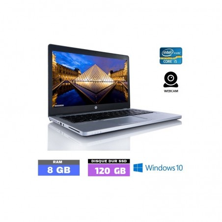 HP ELITEBOOK FOLIO 9470M Sous Windows 10 - CORE I5 - SSD - 8 Go RAM - 041202