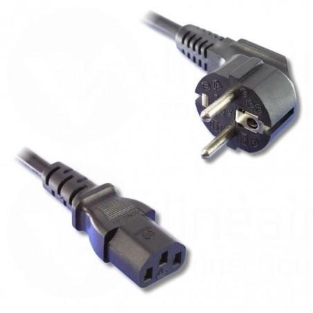 Cable d'alimentation 2 Pôles + Terre 5 m - N°CABALI001