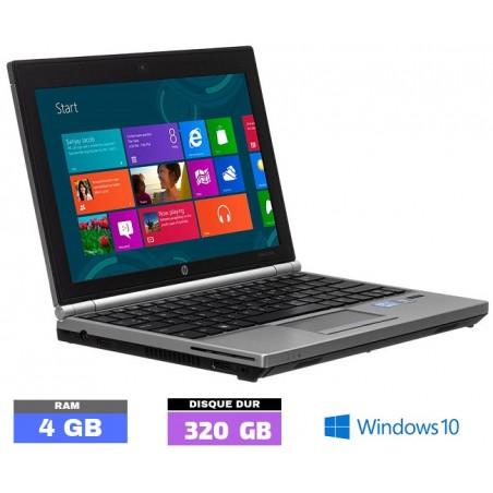 HP ELITEBOOK 2570P sous Windows 10 Core i5 - 4Go RAM - N°051301
