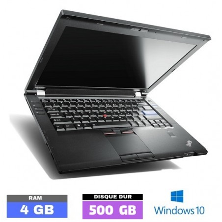 LENOVO L420 Windows 10 - Core I5 - Ram 4 Go- N°051302