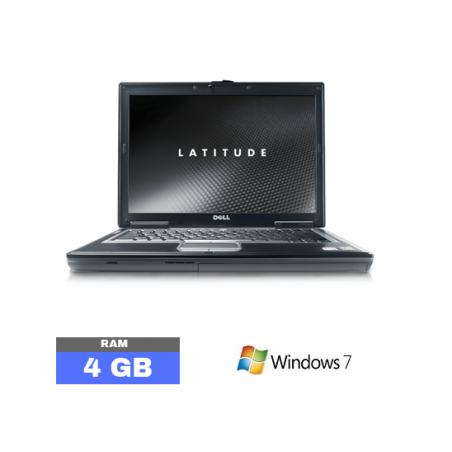 DELL D630 Sous Windows 7 - Ram 4 Go - N°052213