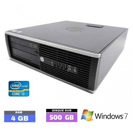 UC HP 6200 PRO SMALL Sous Windows 7 - Core I3 - 4Go RAM - N°052813