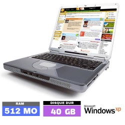 NEC VERSA M320 Sous Windows...
