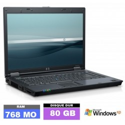 HP NC6120 Sous Windows XP -...