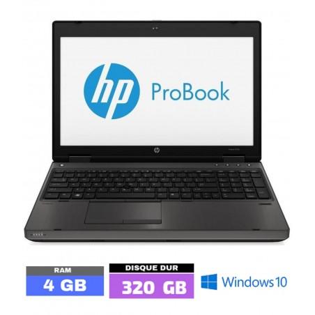 HP PROBOOK 6570B Sous Windows 10  -Ram 4 Go - N°070102