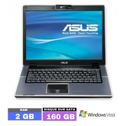 ASUS V1J sous Windows Vista...