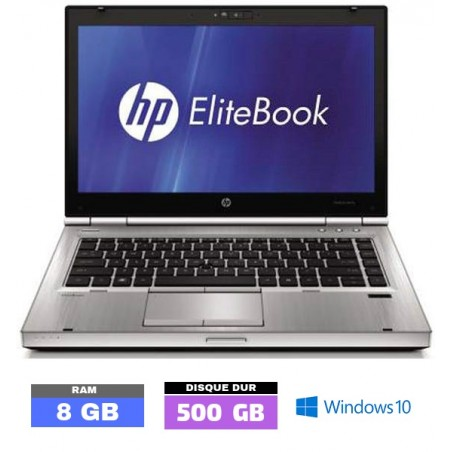 HP Elitebook 8470P Core i5 - 8 Go RAM - Windows 10  - N°072502