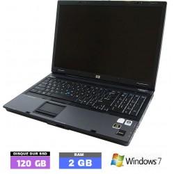 HP COMPAQ 8710 sous Windows...