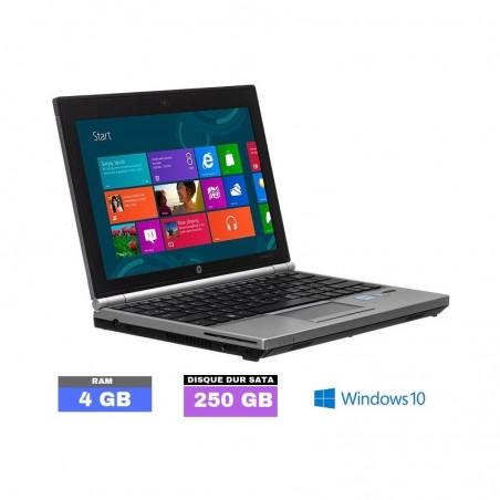 HP ELITEBOOK 2170P sous Windows 10 - Core i5 - 4Go RAM - N°090205