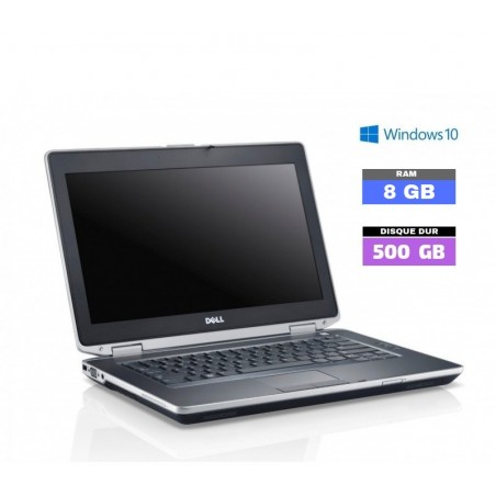 DELL E6320 Core I5 Sous Windows 10 - HDD 500 Go - Ram 8 Go- N°091303