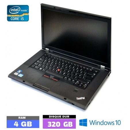 LENOVO T530 Core I5 - Sous Windows 10 - Ram 4 Go - N°102310