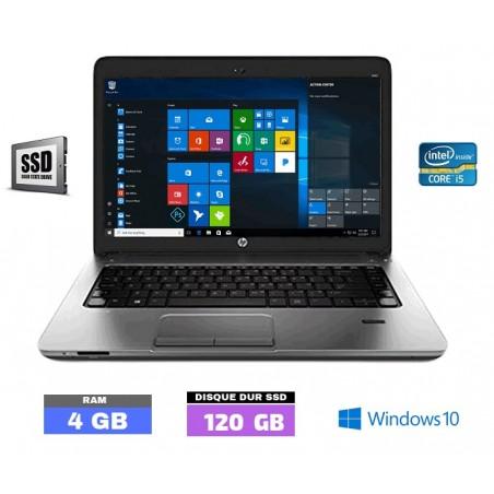 HP Probook 430 G2 Core i5 - SSD - 4Go RAM  sous Windows 10  - N°102801